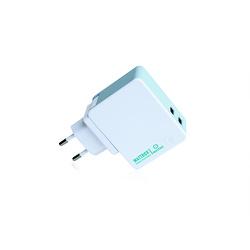 CHARGEUR USB + POWERBANK 2600 MAH + 3 PRISES SECTEUR EU/UK/US