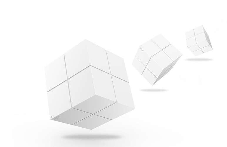 SYSTEME WIFI MESH DE DOMICILE Pour 550 m² max BI-BANDES AVEC 3 BLOCS nova10