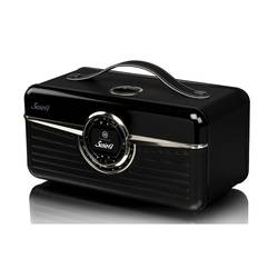RADIO RETRO SUSIE Q DAB / DAB+ / FM/ WIFI 80 WATTS - NOIR