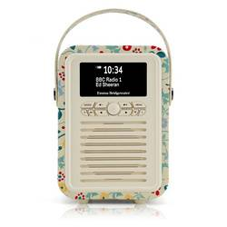 RADIO RETRO MINI DAB / BT FM 5 WATTS SIMILI CUIR EMMA.B - SPRING