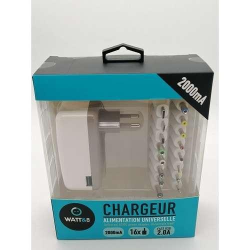 CHARGEUR UNIVERSEL 2000mA 16 CONNECTEURS + USB ch23031220ct-4