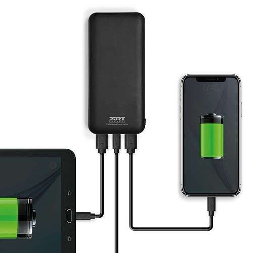 CHARGEUR 18 000 MAH 45W TYPE C PD – RETAIL 900117-port-powerstation18000mah45wtypecpd-devices